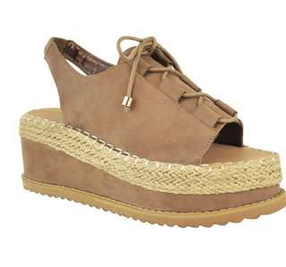 ⚫️Platform Sandals Size 7.5