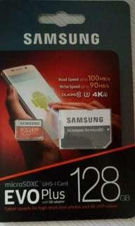 🚚 Original Samsung Micro sd 128gb