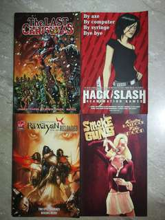 Assorted Comics (Image), Free with any purchase or $2