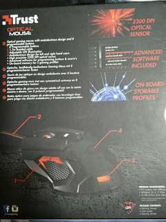 Trust Optical mouse for gaming