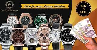 Buy / Sell / Trade Your Luxury Watches At Best Prices