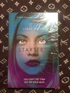 SIGNED COPY OF STARTERS by Lisa Price