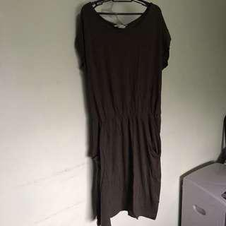 H&M short sleeve jersey dress