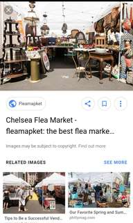 Looking for flea markets