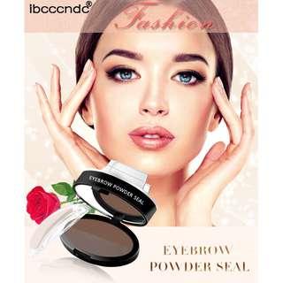 🚚 2 Tone Waterproof Eyebrow Stamp Palette