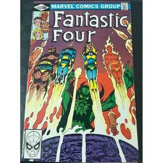 Fantastic Four #232 (1st app: Elements of Doom)