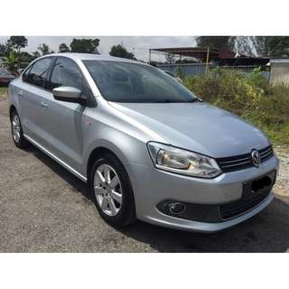 2014  VOLKSWAGEN POLO SEDAN 1.6 (AT)