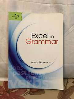 English excel in Grammar / success in English Grammar