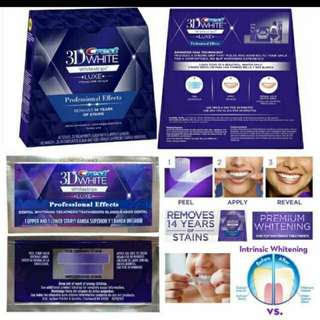 🚚 Crest 3D Luxe Whitestrips - Professional Effects Teeth Whitening