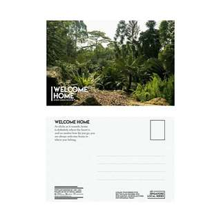 Local Singapore Postcard Series: Botanic Garden Series