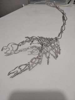 Scorpion metal handmade craft