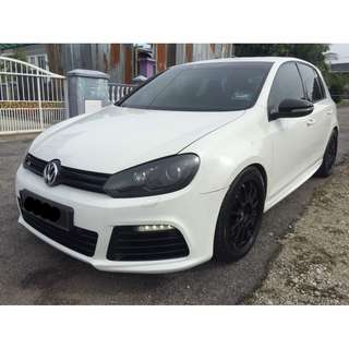2013 VOLKSWAGEN GOLF R 2.0 (AT)