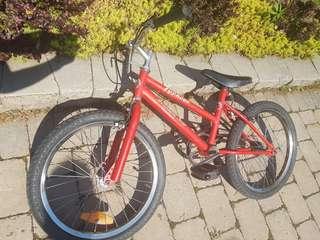 "Typhoon 20"" Red Kids Bike"