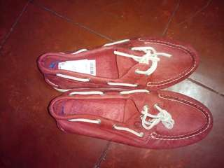 Sperry top sider red