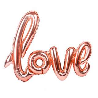 LOVE Inflatable good material foil balloon