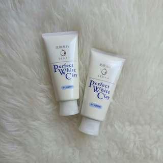 Senka Perfect White Clay Facial Foam