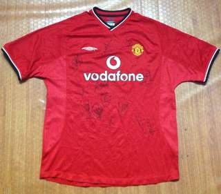 Umbro Manchester United Football Jersey Authentic