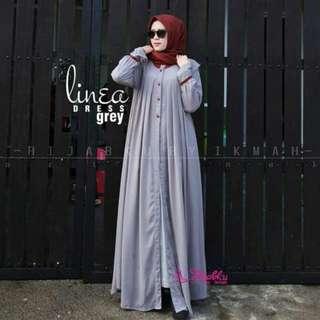 MF - 0418 - Dress Gamis Busana Muslim Wanita Valerie
