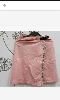 🚚 全新粉色一片裙