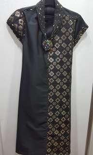 Dress by designer Raden Sirait
