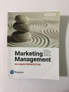 Marketing Management (seventh edition)