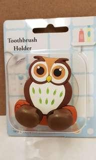 Toothbrush Holder- Owl Design