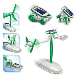 🔥Ready Stock🔥Solar Powered Educational Assembly Model Toy - DIY 6-in-1