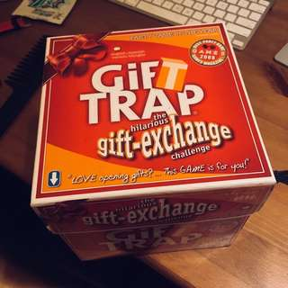 GIFT TRAP card game