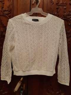 Sweatshirt Lace Type