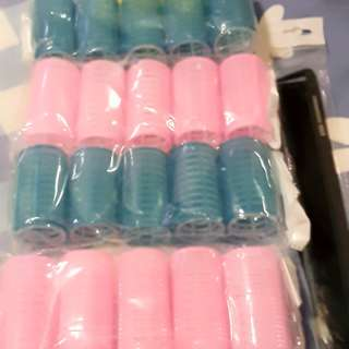 Hair Curler with Velcro brand new