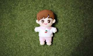 EXO CHANYEOL 20CM DOLL FANSITE ( MYBLACKLABEL) ❤️