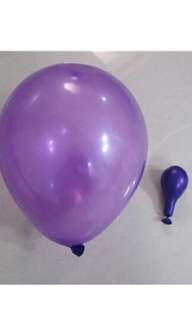 50 pcs $1.50: 1.2g latex balloon
