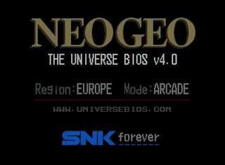 """Neo Geo official Universe BIOS """"Unibios"""" 4.0"""