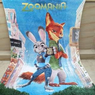 PO Zootopia Blanket