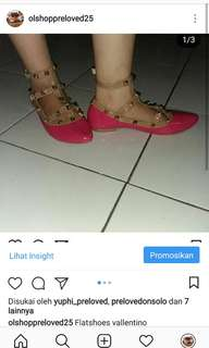 Flat shoes vallentino(barter 90)