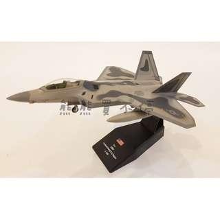 <預購--7/22到貨> 當今世界性能最強的第5代戰機 美軍F22第一戰鬥機 隱形戰鬥機 1:100合金飛機模型 實物拍攝 有兩款可選