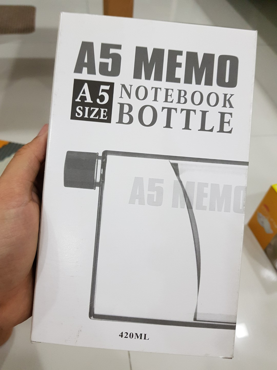 A5 Memo Notebook Bottle Home Appliances Kitchenware On Carousell Water 750ml Premium Grade Bpa Free Portable Kettle