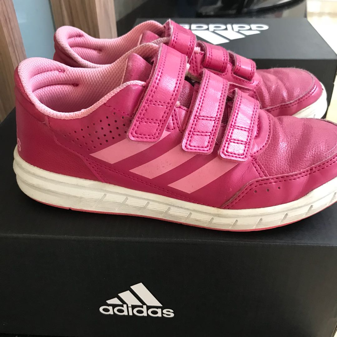4e39ca50ca Adidas sports shoes girls Size 2 (US), Babies & Kids, Girls' Apparel ...
