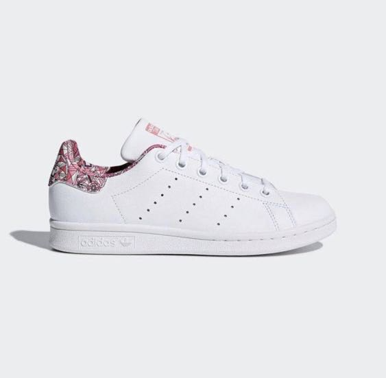 newest 7bb96 83a56 Adidas Stan Smith Pink Geometrical, Womens Fashion, Shoes, S