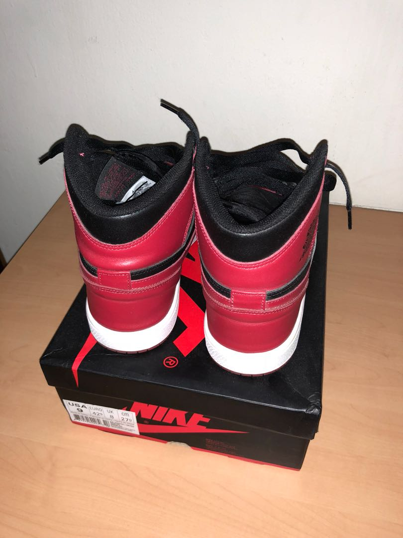 9e262fe98073af Air Jordan 1 unauthorized pair