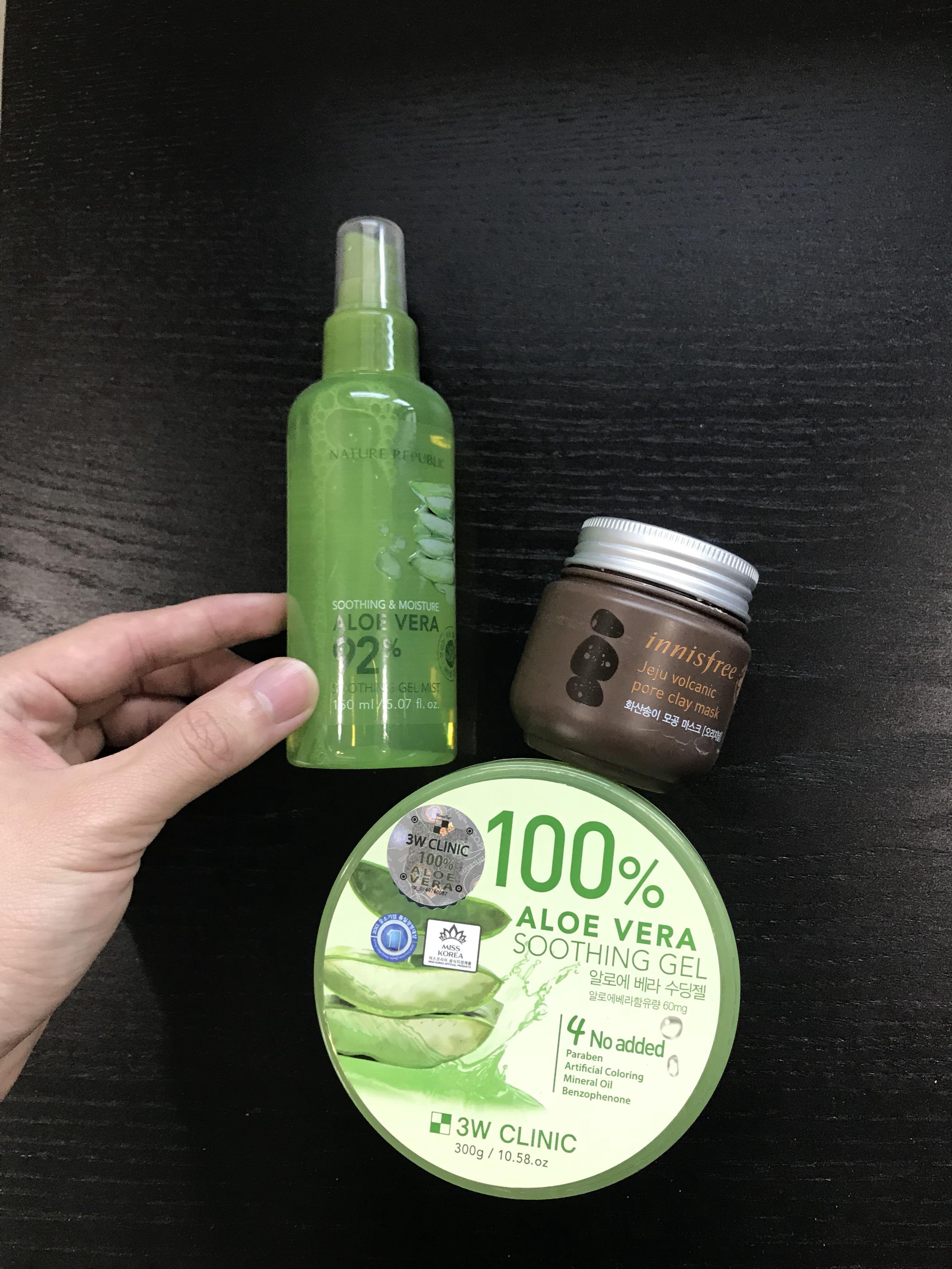 Aloe Vera Soothing Gel Health Beauty Face Skin Care On Carousell K Jeju Fresh Shooting Nature Photo