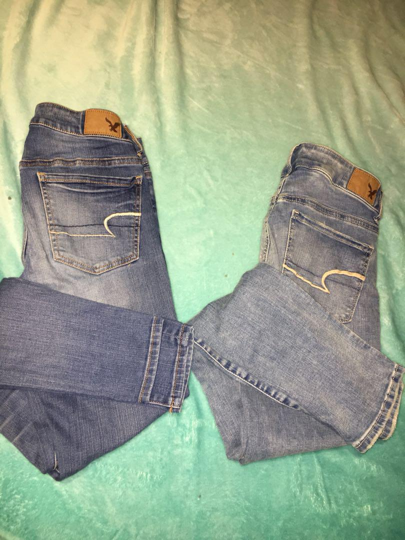 american eagle jeans :))
