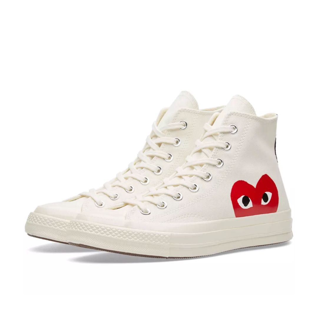 Authentic CDG PLAY Converse