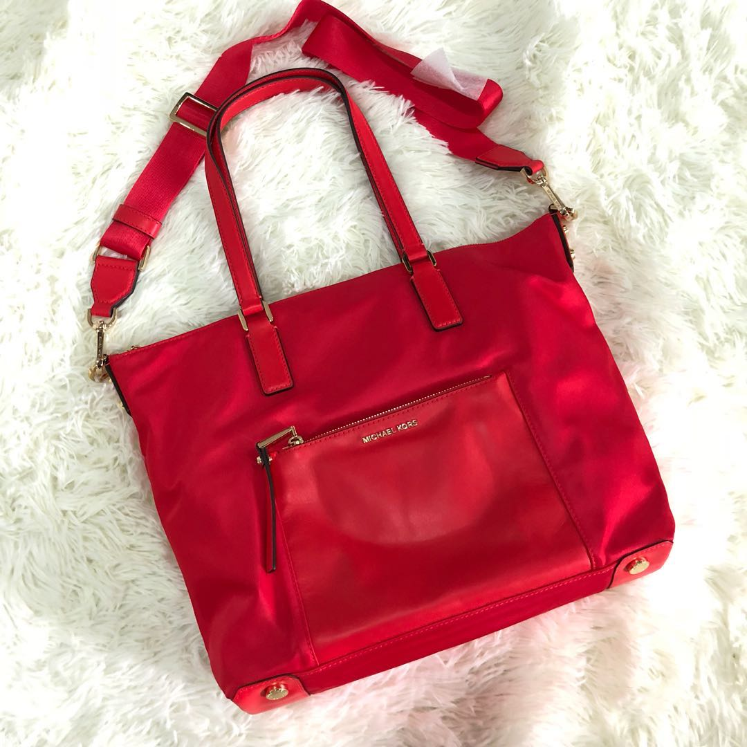 b1c39a87917c Brand New Micheal Kors Ariana Large Tote Coral Reef