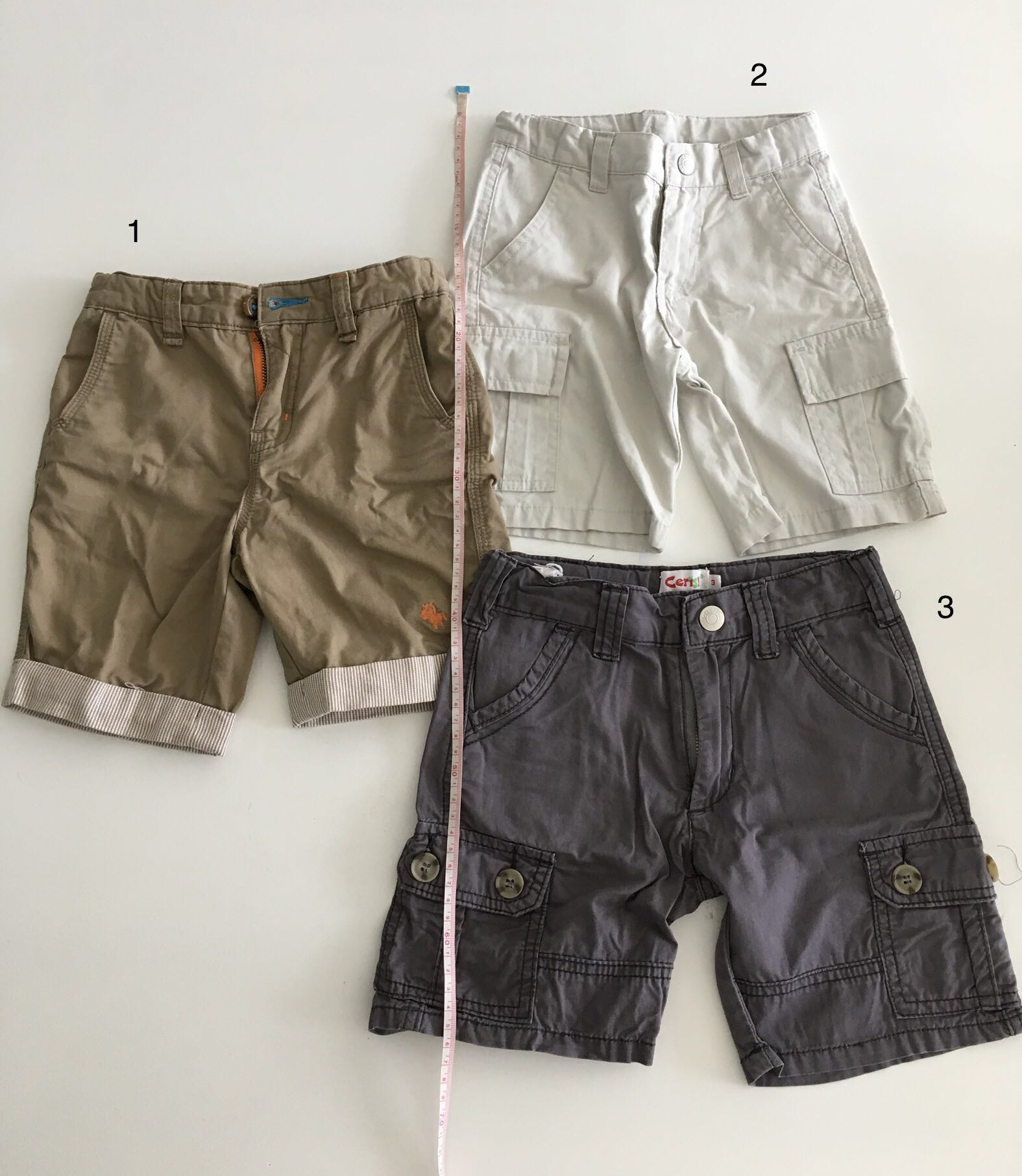 9037a1c8228c Bundle] PL Toddler Boy Shorts (3 pairs; size 3T), Babies & Kids ...