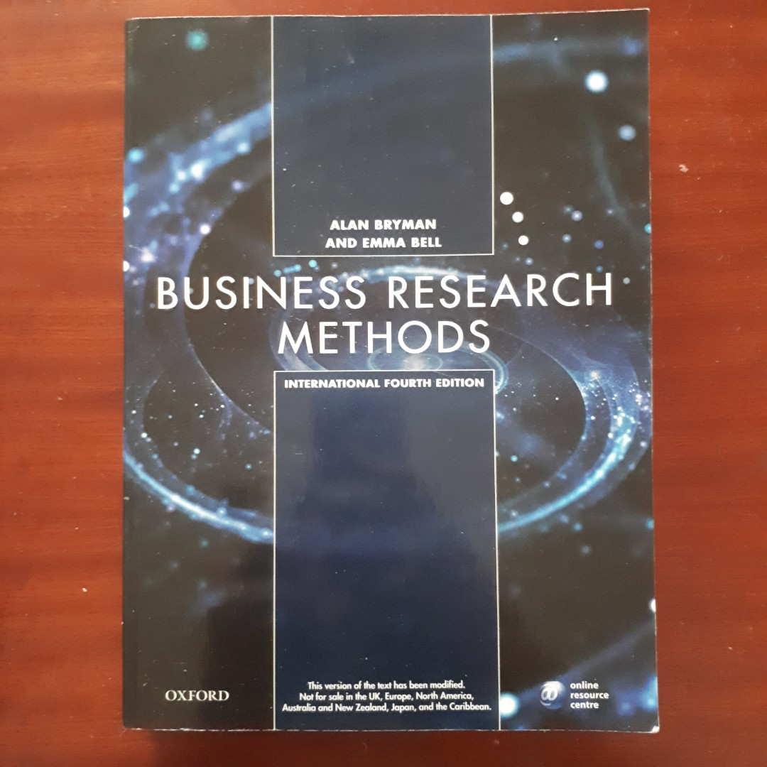 Business research methods by alan bryman and emma bell textbooks on business research methods by alan bryman and emma bell textbooks on carousell fandeluxe Image collections