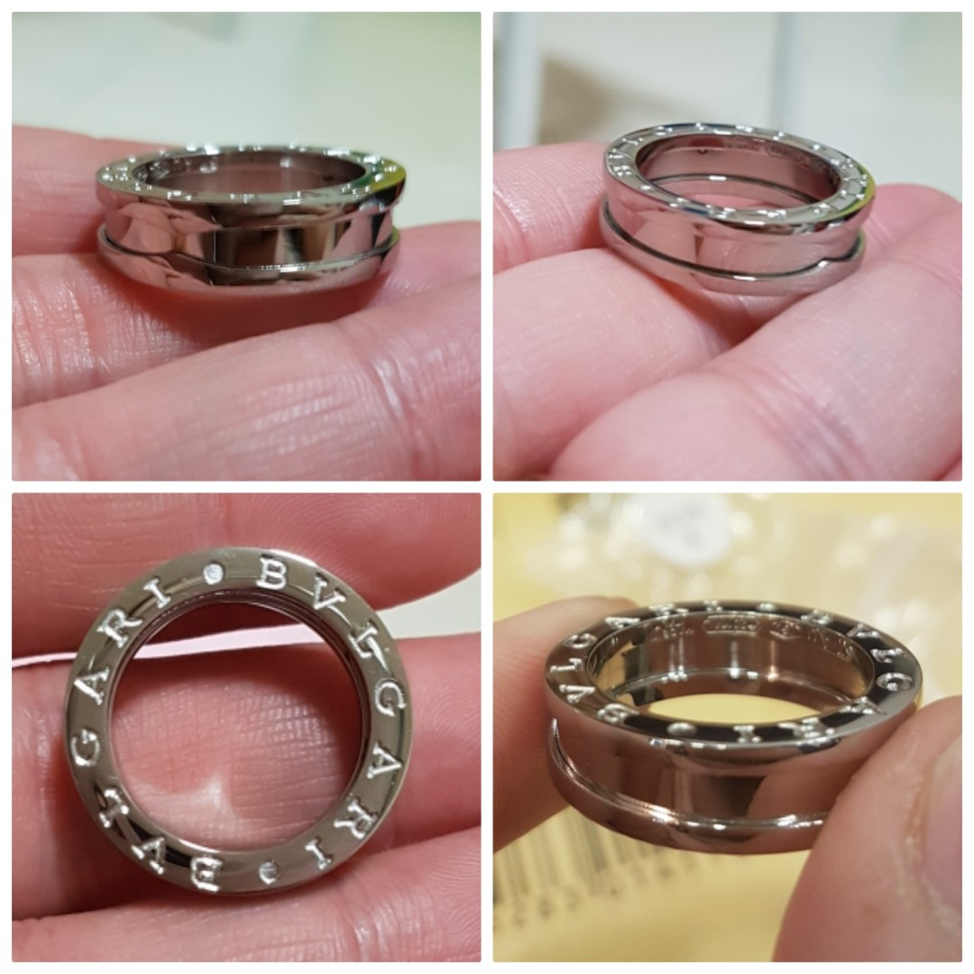 Bvlgari Ring, Luxury, Accessories, Others on Carousell