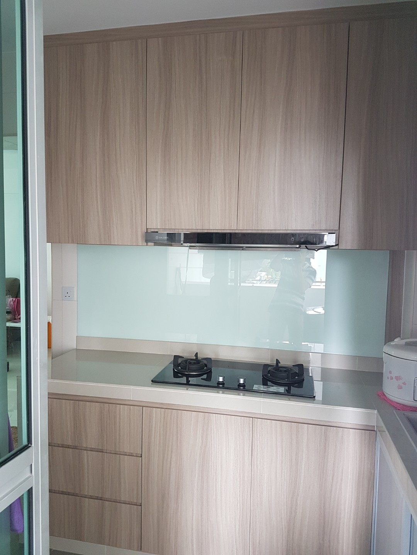 Carpenter customize kitchen cabinet, Home Appliances, Kitchenware on ...