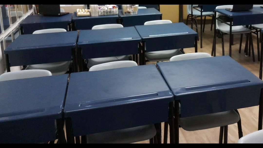 Picture of: Classroom Tables And Chairs Furniture Tables Chairs On Carousell