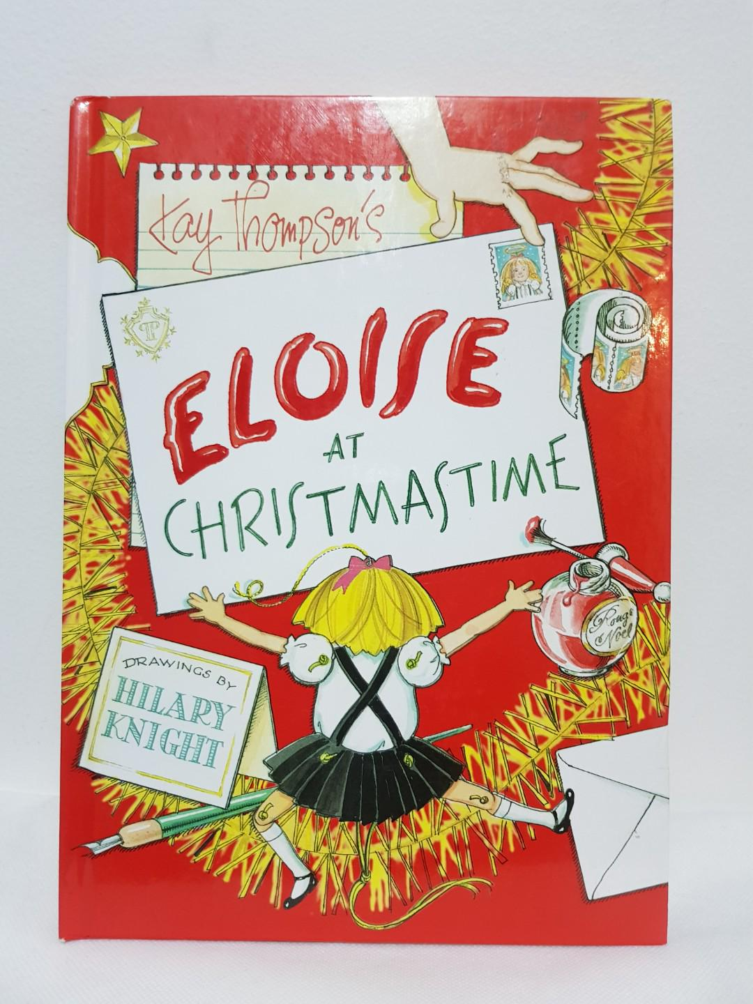 Eloise At Christmas.Eloise At Christmastime Hardbound Color On Carousell